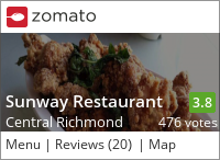 Sunway Restaurant 三味食堂 on Urbanspoon