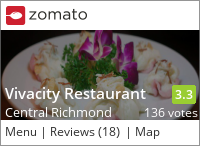 Vivacity Restaurant 名都 on Urbanspoon