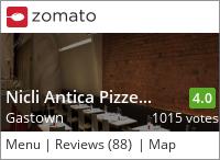 Nicli Antica Pizzeria on Urbanspoon
