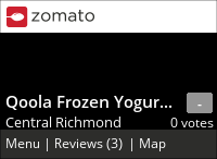 Qoola Frozen Yogurt + Fruit (Aberdeen Centre) on Urbanspoon