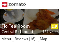 Flo Tea Room on Urbanspoon