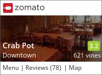 Crab Pot Restaurant & Bar on Urbanspoon