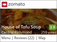 House of Tofu Soup on Urbanspoon