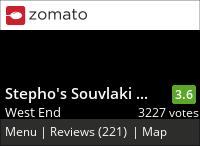 Stepho's Souvlaki Greek Taverna on Urbanspoon