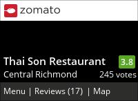 Thai Son Vietnamese (Richmond) on Urbanspoon