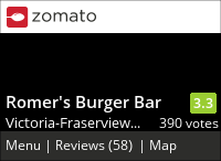 Romer's Burger Bar on Urbanspoon