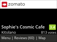 Sophie's Cosmic Cafe on Urbanspoon