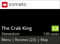 The Crab King on Urbanspoon