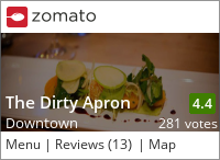 Dirty Apron on Urbanspoon