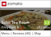 Soho Tea Room on Urbanspoon