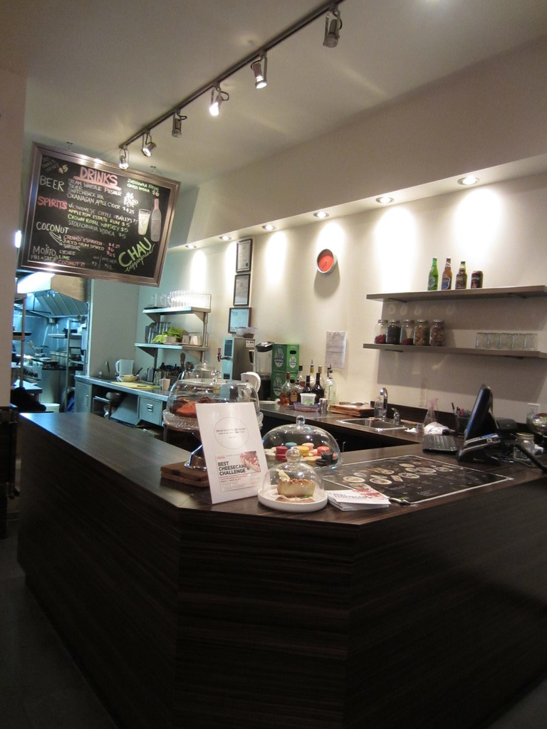 Delicious Interiors With Natural Materials And Gorgeous: CHAU VeggiExpress- Healthy Yet Delicious