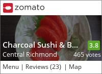 Charcoal Sushi & BBQ Restaurant on Urbanspoon