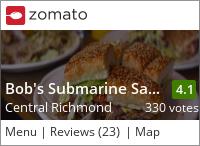 Bob's Submarine Sandwiches on Urbanspoon