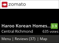 Haroo Korean Homestyle Cuisine on Urbanspoon