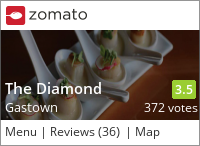 The Diamond on Urbanspoon