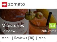 Milestones Grill and Bar on Urbanspoon