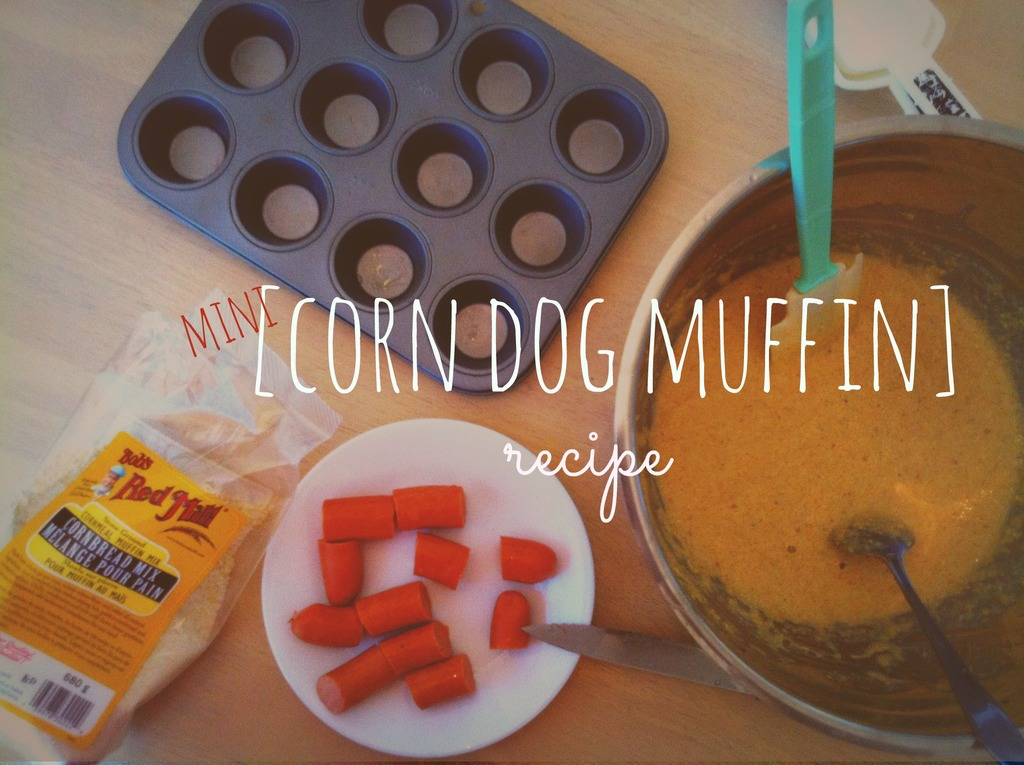 Easy Mini Corn Dog Muffin Recipe