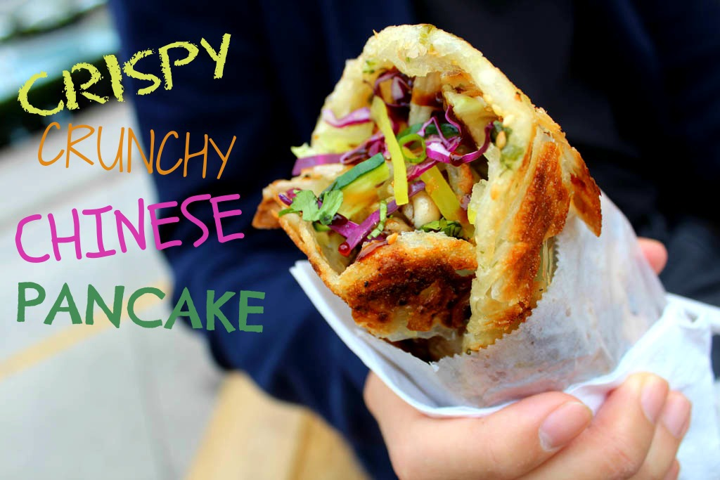 Eat Chicken Wraps Crispy Crunchy Chinese Pancake Eating With Kirby