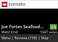 Joe Fortes Seafood & Chop House on Urbanspoon