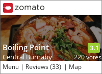 Boiling Point (Kingsway) 沸點臭臭鍋 on Urbanspoon