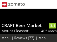 CRAFT Beer Market on Urbanspoon