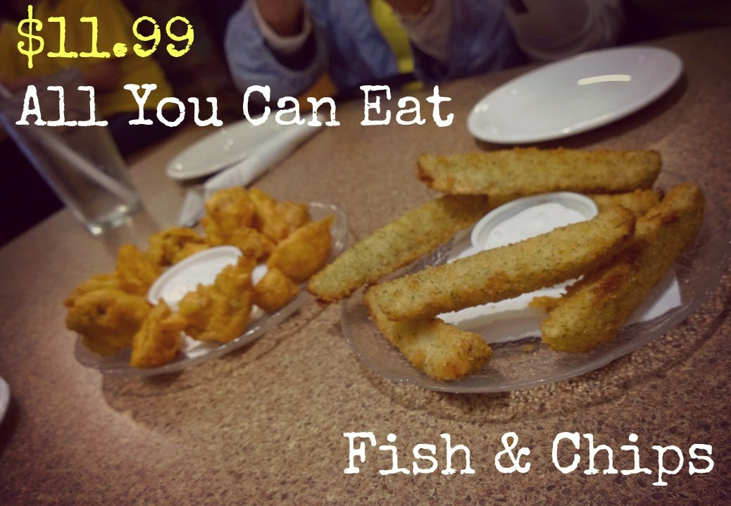 C lovers denman all you can eat fish chips for All you can eat fish