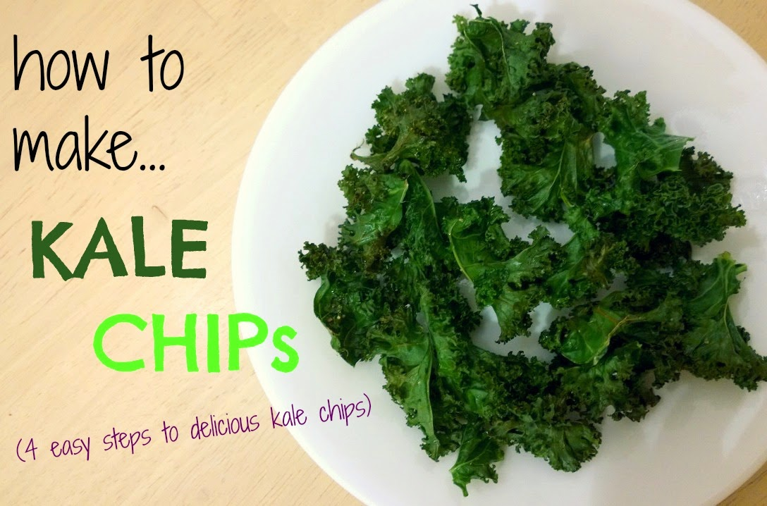 How to Make…Kale Chips (4 Easy Steps to Delicious Kale Chips)