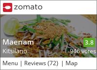 Maenam on Urbanspoon