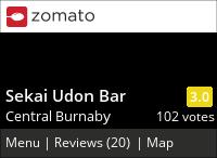 Sekai Udon Bar on Urbanspoon