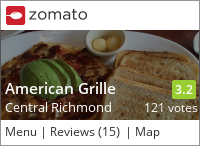American Grille on Urbanspoon