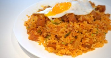 Easiest Kimchi Fried Rice Recipe
