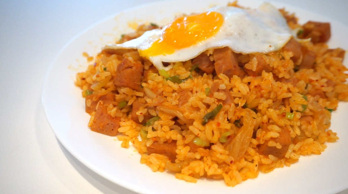 Easiest kimchi fried rice recipe eating with kirby ccuart Choice Image