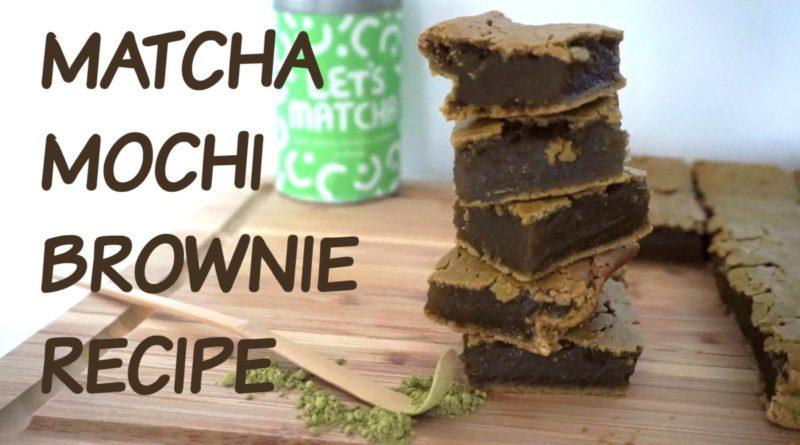 Easiest Matcha Mochi Brownie Recipe