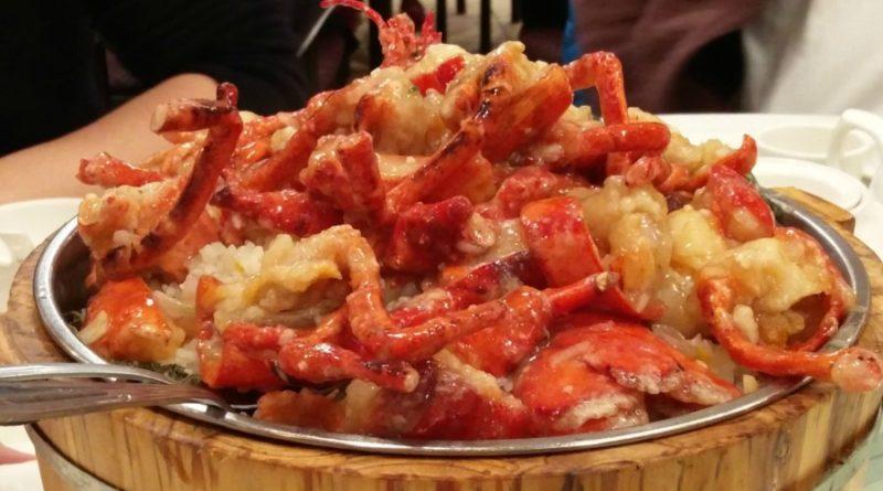 Golden Eats Seafood Restaurant – Lobster Sticky Rice and Dark Vinegar Spare Ribs