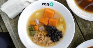 Zen Q – Chewy Matcha, Yam, and Taro Q Balls