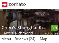 Chen's Shanghai Kitchen 白玉蘭餐館 on Urbanspoon