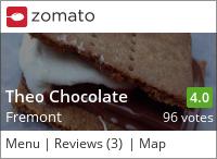 Theo Chocolate on Urbanspoon
