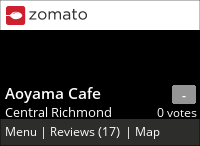 Aoyama Cafe (UCC Coffee) on Urbanspoon
