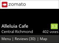 Alleluia Cafe on Urbanspoon