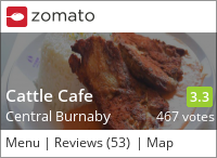 Cattle Cafe 牛仔餐廳 (Burnaby) on Urbanspoon