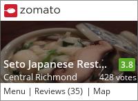 Seto Sushi on Urbanspoon