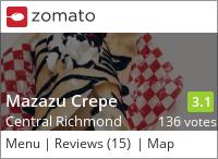 Mazazu Crepe on Urbanspoon