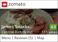 James Snacks 占士叻煲仔飯 on Urbanspoon