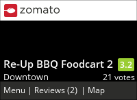 Re-Up BBQ Foodcart 2 on Urbanspoon