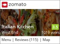 Italian Kitchen on Urbanspoon