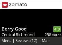 Berry Good on Urbanspoon