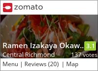 Tokyo Joe's Ramen Okawari on Urbanspoon