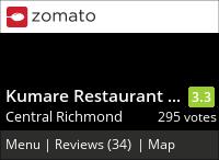 Kumare Restaurant & Bakery on Urbanspoon
