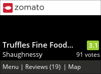 Truffles Fine Foods Cafe on Urbanspoon