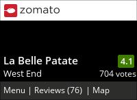 La Belle Patate on Urbanspoon